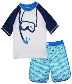 XS-XL INTERESTPRINT Kids T-Shirts Mustache Pattern on Polka Dots Background