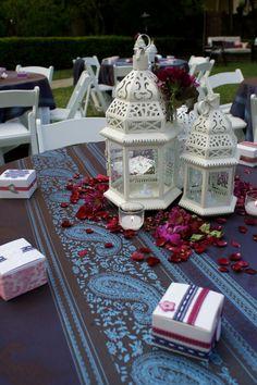 Romantic morrocan lanterns