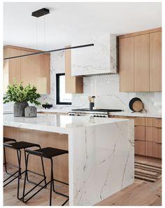Small Space Kitchen, Kitchen Room Design, Design Room, Home Decor Kitchen, Interior Design Kitchen, Home Design, New Kitchen, Home Kitchens, Island Kitchen