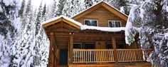 Neerlands trots in Canadese Kootenays Cabin, House Styles, Building, Home Decor, Decoration Home, Room Decor, Cabins, Buildings, Cottage
