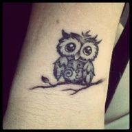 Because I might want another owl tattoo someday.
