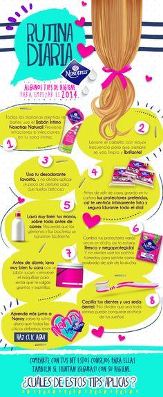 Rutina, para chicas (y con marcas) + IMPERATIVO