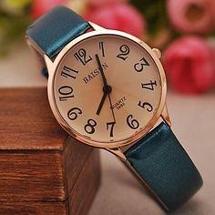 damesmode gecontracteerd lichte huid grotere aantallen horloges (verschillende kleuren) 2016 – €8.81