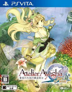PS Vita Game - Atelier Ayesha Plus: The Alchemist of Dusk -- Also known as: Ayesha no Atelier Plus: Koukon No Daichi No Renkinjutsu