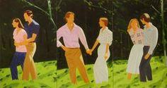Creo que las pinturas de Alex Katz fueron una inspiración temprana para mi programa las relaciones sexuales: ...