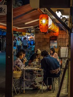 Yukata (light summer kimono) clad people are all over Asakusa on summer days and nights. And after they had their leisurely walk around the place, they invariably stop for a beer at the open-air izakaya/taverns like this one in Koenchi Dori/Str. #Asakusa, #yukata, #kimono, #izakaya, #tavern, #Koenchi July 5, 2014 © Grigoris A. Miliaresis