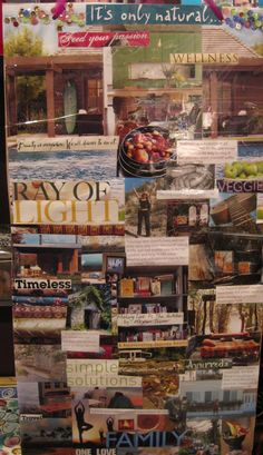 Meghan Telpner's Vision Board- I like this person!! She's got IT going!!