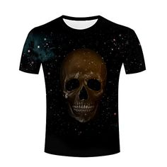 3d Pattern, Pirate Skull, Branded T Shirts, Fashion Brands, Graphic Tees, Tee Shirts, Mens Tops, Stuff To Buy, T Shirts