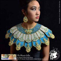 "Helena Tang: ""The Phoenix Collar"" Manek-Manek Beads - Jewelry | Kits | Beads | Patterns"