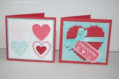StampinUp! Hearts a Flutter / Ticket für Dich