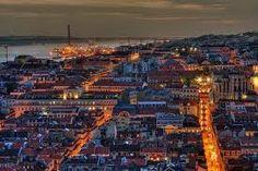 Entardecer em Lisboa