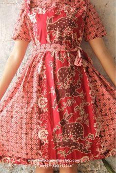 batik amarillis's innocencia dress