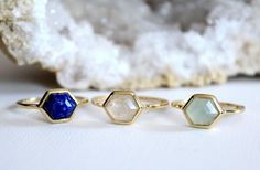 Delicate Moonstone Ring - Small gemstone ring – Rachael Ryen Jewelry