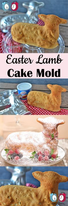 Easter Lamb Cake Mold from Alarm Clock Wars. Have you ever wanted to bake a cake with that cute lamb cake mold for Easter? Check out these tips and tricks for getting that cake to come out perfect.