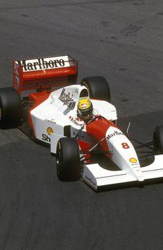 Aryton Senna - McLaren Ford - 1993