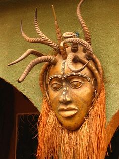 Cameroon mask.