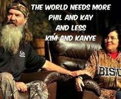 """Phil and Miss Kay Robertson of the TV show """"Duck Dynasty"""" speak at the Don Meyer Evening of Excellence at Lipscomb University on Friday, April in Nashville, Tenn. Robertson Family, Phil Robertson, Phil Kay, I Smile, Make Me Smile, Just Keep Walking, Kim And Kanye, Duck Commander, Duck Dynasty"""