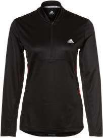 Zomercollectie 2013: Adidas shirt lange mouw RSP zip zwart/rood dames bij Hardloopaanbiedingen.nl #Adidas #hardloopshirt #hardloopaanbiedingen
