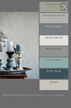 Marrakech Walls Paint, Farbe: Silver Like. Foto D.- Marrakech Walls Paint, Farbe: Silver Like. Foto D. Ceulemans – Home: Living colo Marrakech Walls Paint Farbe: Silver Like. Foto D. Ceulemans Home: Living colo - Wall Paint Colors, Bedroom Paint Colors, Paint Colors For Living Room, Interior Paint Colors, Paint Colors For Home, House Colors, Wall Painting Living Room, Popular Paint Colors, Tadelakt