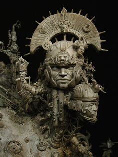 Kris Kuksi. Amazing sculptures - Creative Arts - UK420