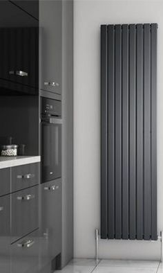 Our exclusive range of Brenton radiators now includes this gorgeous steel flat panel vertical radiator Contemporary Radiators, Modern Radiators, Kitchen Radiators, Bedroom Radiators, Tall Radiators, Flat Panel Radiators, Vertical Radiators, Modern Radiator Cover, Decorative Radiators