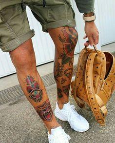 ⏩Chubster tattoo inspirations - Idée tatouage homme ⌨️tags for : - Calve Tattoo, Leg Tattoo Men, Tattoo On, Body Art Tattoos, Small Tattoos, Sleeve Tattoos, Gentleman Tattoo, Tatuaje Old School, Cool Tattoos For Guys