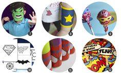 Recursos para una fiesta temática de superheroes