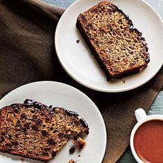 Make a basic loaf of banana bread even more special with the addition of chocolate chips and flaxseed.