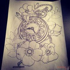 alice in wonderland tattoo sketches - Szukaj w Google