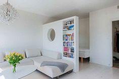 Спальня-гостиная #scandinavianinterior #homedecor