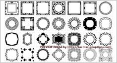 3000  Photoshop Custom Shapes in 55 Sets