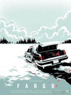 Fargo (Mondo poster for ATX Television Festival)