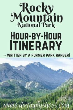 Take the trip to Rocky Mountain National Park that your family can't stop talking about! More than a travel guide, this itinerary will take you through Rocky Mountain hour-by-hour, so you don't spend Road Trip To Colorado, Colorado Hiking, Denver Vacation, Hiking With Kids, Mountain Vacations, Rocky Mountain National Park, National Forest, Rocky Mountains, National Parks