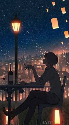 Art that showcases aspects of people's lives in realistic or fantastical settings -- Often seeking to glorify the mundane (though not limited to),. Anime Backgrounds Wallpapers, Anime Scenery Wallpaper, Animes Wallpapers, Cute Wallpapers, Wallpapers Android, Colorful Wallpaper, Aesthetic Art, Aesthetic Anime, Yuumei Art