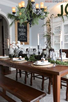 Christmas Tablescape 3