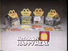 And nothing was better than the promise of a Happy Meal. Well, besides actually getting one, of course.