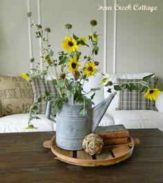 Fern Creek Cottage: My Fall Living Room