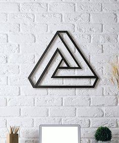 Loving this Triange Metal Wall Décor on #zulily! #zulilyfinds