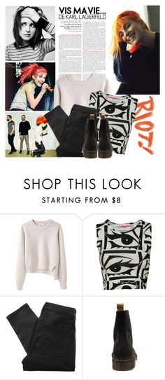 """""""Hayley Williams"""" by mafalda98 ❤ liked on Polyvore featuring 3.1 Phillip Lim, Marc by Marc Jacobs, Dr. Martens, perfect, paramore and hayleywilliams"""