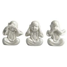 Collectible Ceramic Monks