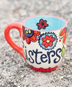 Take a look at this 'Sisters' Mug by Glory Haus on #zulily today!