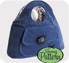 Bracelet Bag Sewing Pattern - PDF Pattern (Email Delivery)