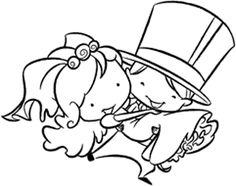 Wedding Day Gifts, Bride Gifts, Wedding Cards, Colouring Pages, Coloring Books, Copics, Digital Stamps, Clear Stamps, Cute Drawings