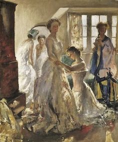It's About Time: Summer Women by English artist Dr. Henry Tonks 1862-1937
