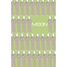Moon 12x18 inches movie poster. £12.00, via Etsy.