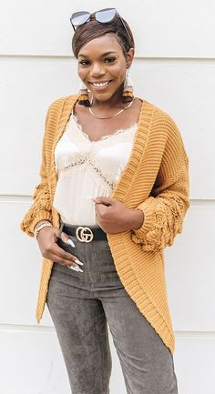 Trendy & affordable women's boutique shopping at The Copper Closet. Ladies Boutique, Boutique Clothing, Fashion Boutique, Boho Outfits, Fall Outfits, Yellow Outfits, Shopping Shopping, Online Shopping, White Fur Jacket
