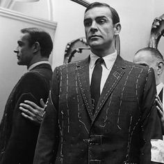 Sean Connery fitting for 007