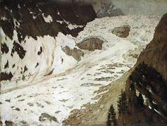 A river - Isaac Levitan