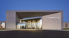 HGA completed the CentraCare Health in Long Prairie, Minnesota with attention given to its surroundings. The CentraCare Health is the largest provider of healthcare in … Entrance Design, Gate Design, Facade Design, Building Exterior, Building Facade, Building Design, Boundary Walls, Contract Design, Hospital Design