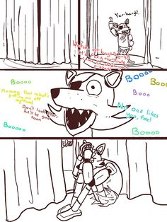 I am just going to leave that here ^^^^ *hugs Foxy* Hey....it's ok...they just can't see that you're a special person :) I know how it feels